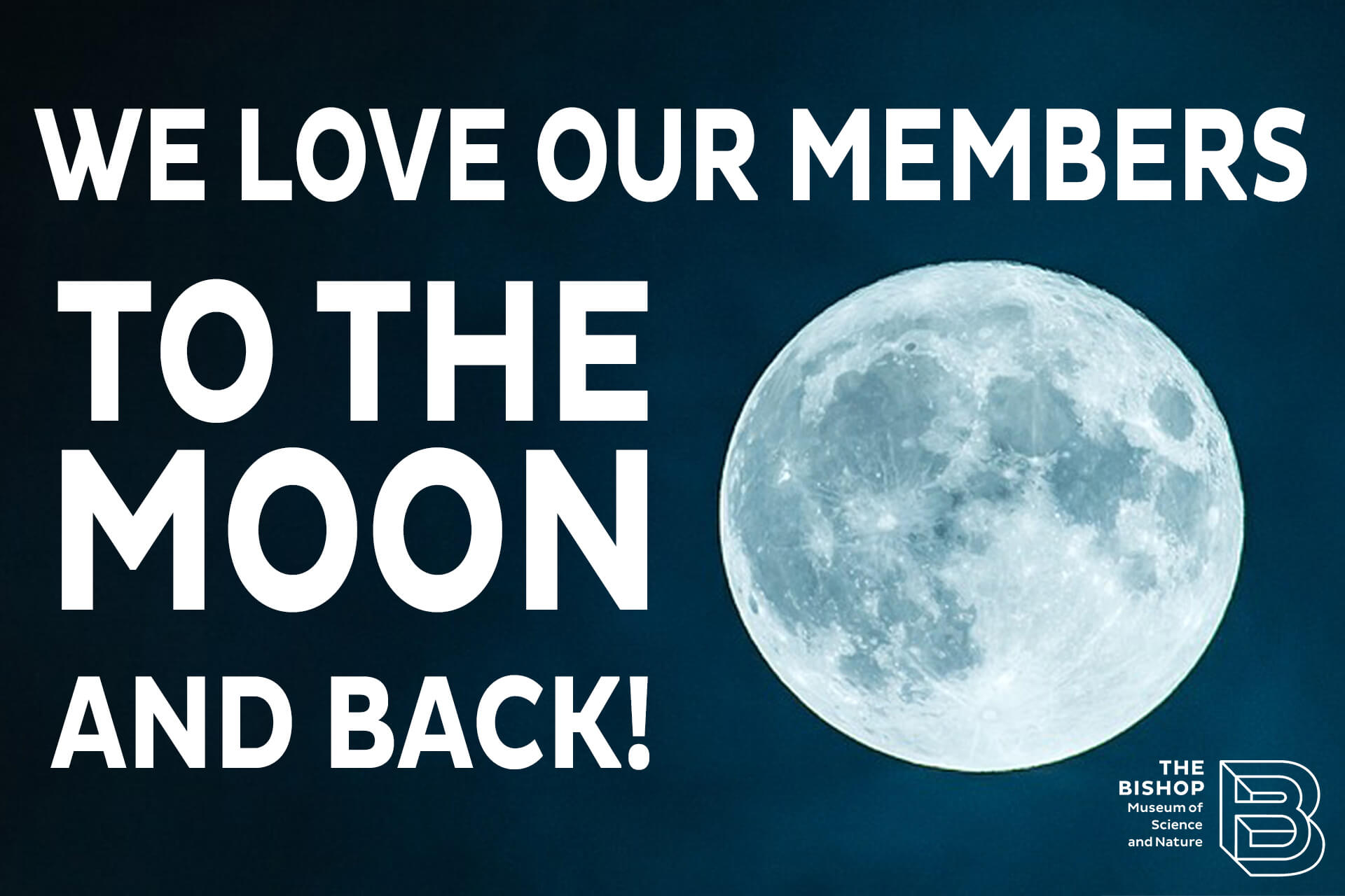 A Moon Spectacular For Members Only!